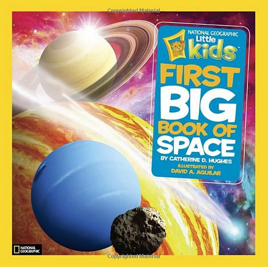 $7.68 National Geographic Kids First Big Book of Space