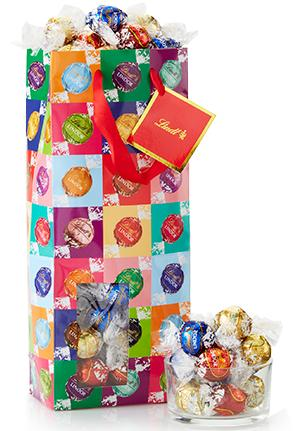 100 Count Lindor Bags @ Lindt