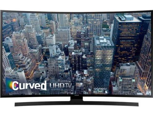 $949.99 Samsung 55-Inch Curved 4K Ultra HD Smart LED HDTV UN55JU6700