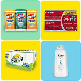 40% Off Select 3x College Essentials (Cleaning, Personal Care + More)