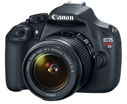 Canon EOS Rebel T5 EF-S 18-55mm IS II Lens Kit