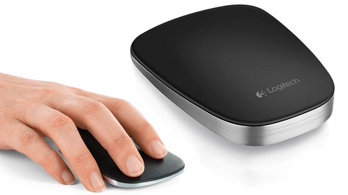 Logitech T630 Ultrathin Optical Touch Mouse