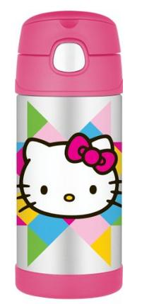 Thermos 12 Ounce Funtainer Bottle, Hello Kitty
