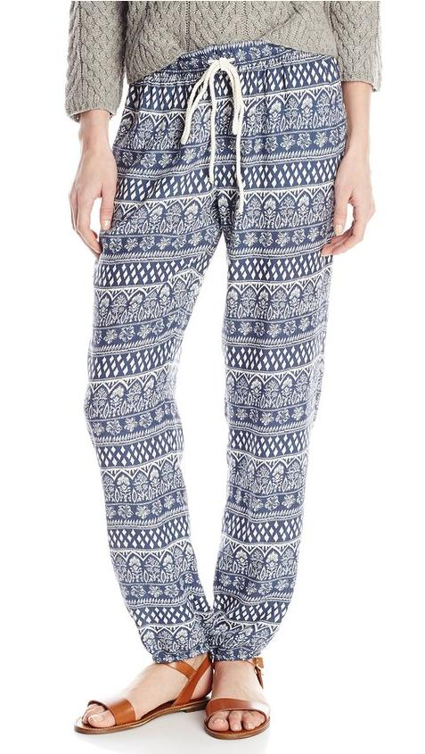 From $3.35 Roxy Juniors Sweet Sea Soft Pant