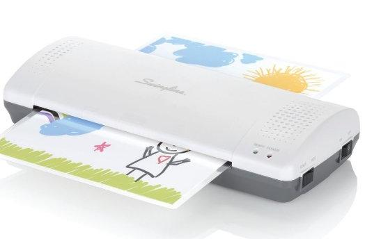 Swingline Thermal Laminator with Laminating Pouches 1701857ECR