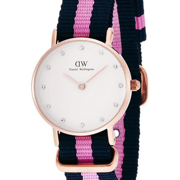 $71.2 Daniel Wellington Women's 0906DW Winchester Analog Display Quartz Multi-Color Watch