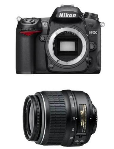 $449 Nikon Refurbished D7000 DSLR with18-55mm Nikkor Lens