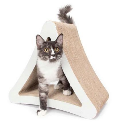 PetFusion 3-Sided Vertical Cat Scratcher and Post (Standard Size)