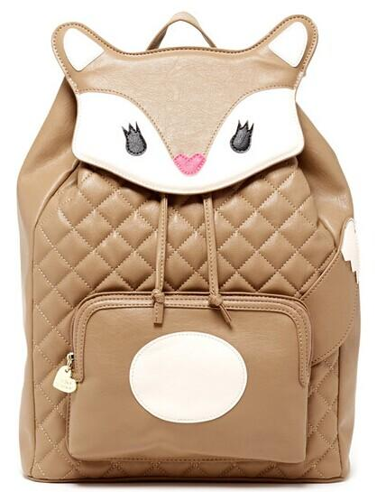 Betsey Johnson Kitch Faux Leather Backpack @ Nordstrom Rack