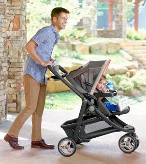 Graco Modes Sport Click Connect Stroller, Alloy @ Amaozn.com