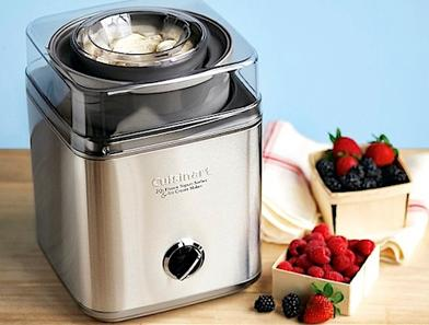 $49.99 Cuisinart Pure Indugence 2Qt. Frozen Yogurt & Ice Cream Maker (Refurbished)