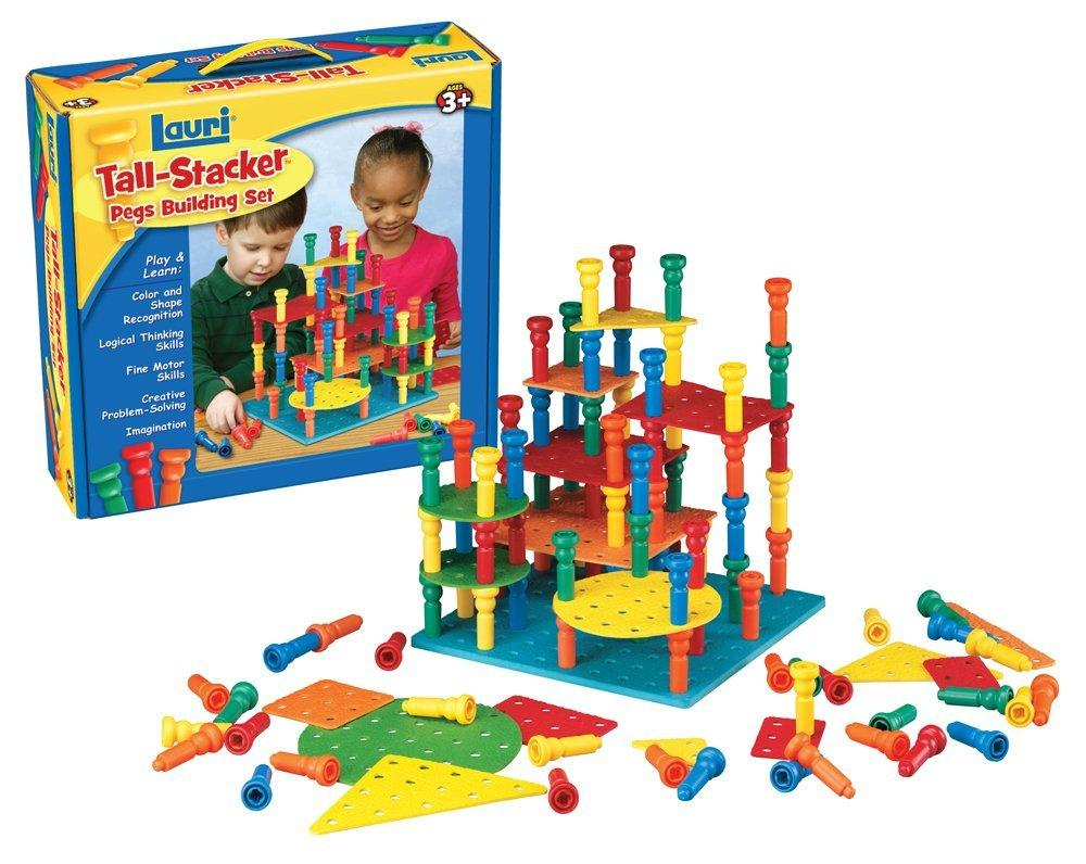$21.71 Lauri Tall-Stacker Pegs Building Set