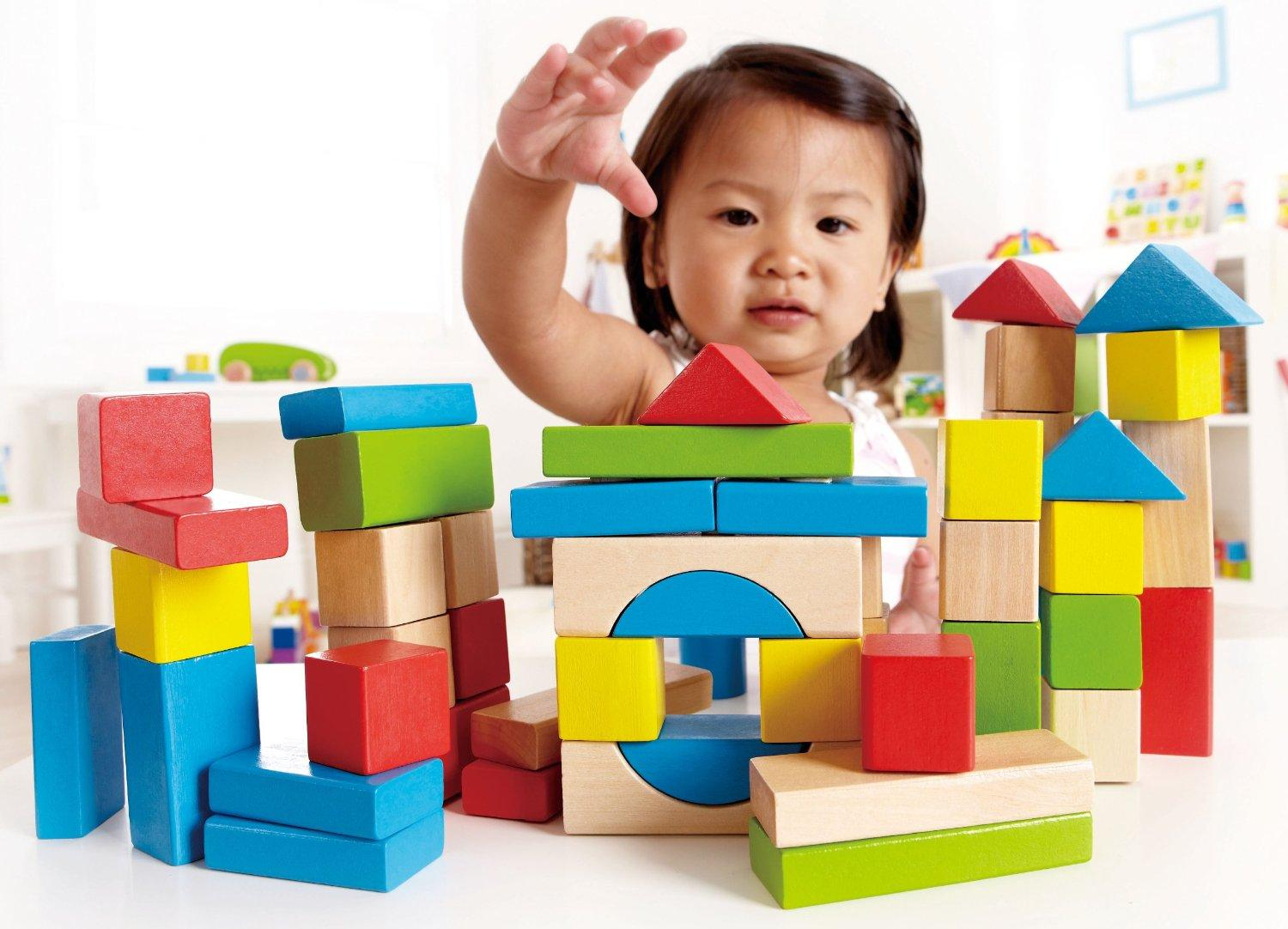 Hape Maple Blocks 50 Pieces