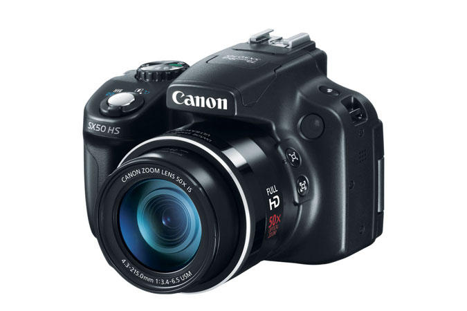 Canon PowerShot SX50 HS Refurbished + FREE 4GB SD Card