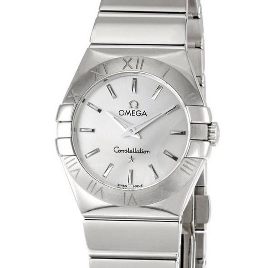 Lowest price! Omega Women's 123.10.27.60.02.002 Constellation Silver Dial Watch
