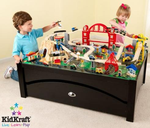 $139.99 KidKraft Metropolis Train Table & Set @ Amazon.com