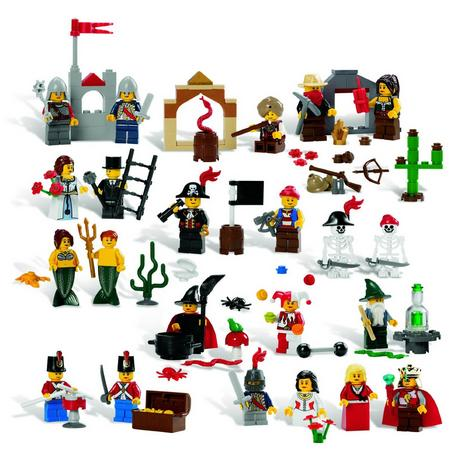 LEGO Education Fairytale and Historic Minifigures Set 4598356