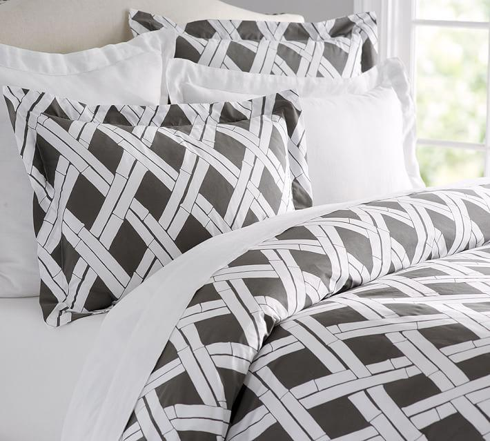 From $34.99 + Free Shipping CERA TRELLIS Print Duvet Cover
