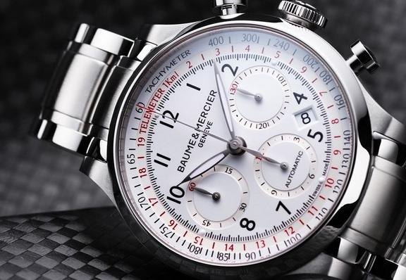 $1199.99 Baume and Mercier Capeland Chronograph Mens Watch MOA10061