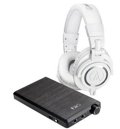 Audio-Technica M50x Headphones + FiiO E12