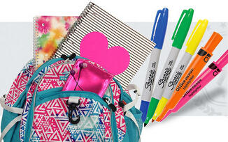 Up to 50% Off School Essentials @ Office Depot