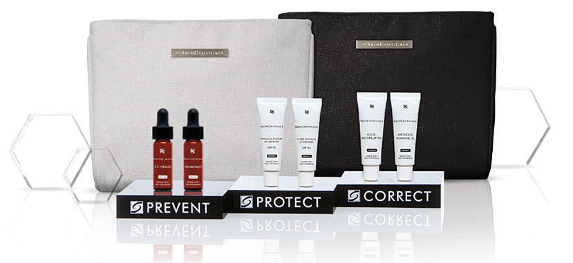 4 Piece Customizable Travel Regimen (Up to $65 value)With $175 Purchase at Skinceuticals