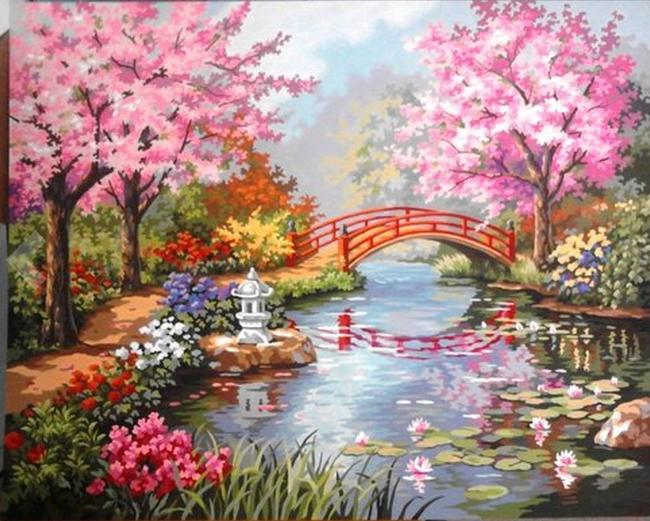 From $11.34 Select DIY Oil Painting by Number Kits @ Amazon.com