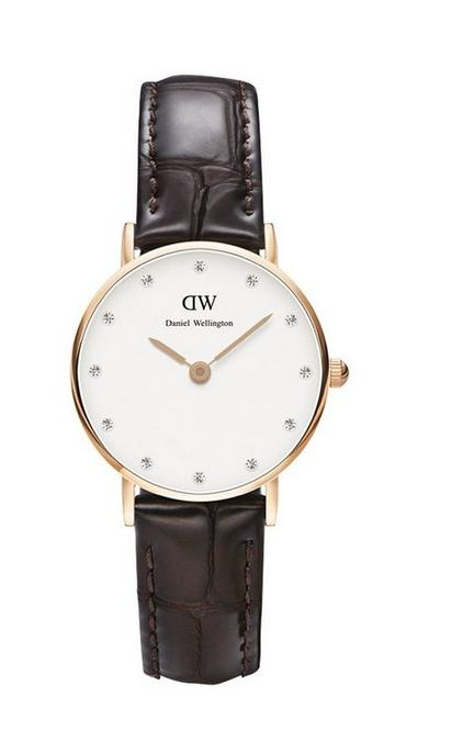 Daniel Wellington Women's 0902DW Analog Display Japanese Quartz Brown Watch