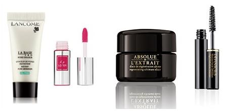 Free 4 Deluxe Gifts With Any Lancome Purchase @ Saks Fifth Avenue