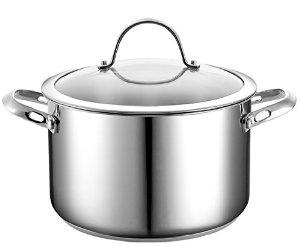 Cooks Standard NC-00350 Stainless Steel Stockpot with Cover, 6-Quart