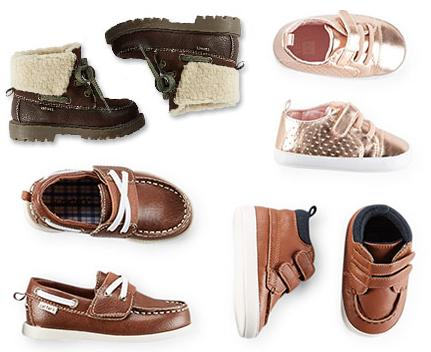 50% Off + Extra 15% Off All Shoes On Sale @ Carter's