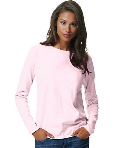 Hanes Womens ComfortSoft Long-Sleeve T-Shirt