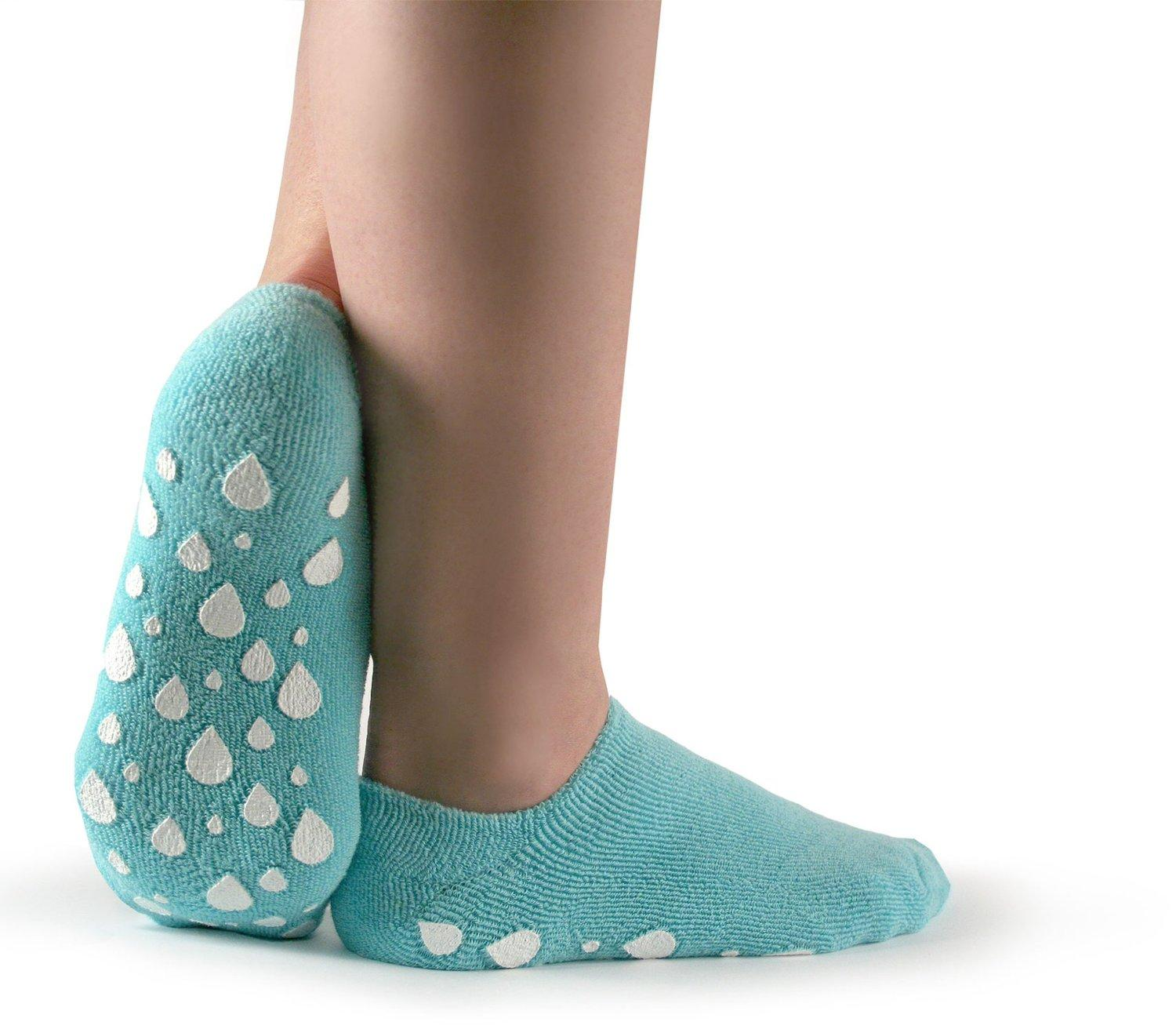 Silipos Plush Terry Gel Moisturizing Booties