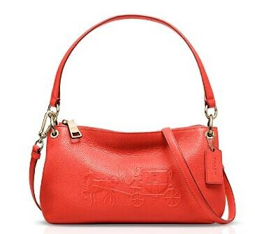 COACH Embossed Horse and Carriage Charley Crossbody @ Bloomingdales