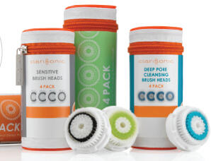 Up to 33% Off + Extra  $10 Off Clarisonic Limited Edition Brush Head 4-Packs @ Clarisonic