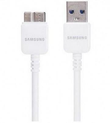 Samsung Galaxy Note 3 USB 3.0 Charge & Data Cable (White)