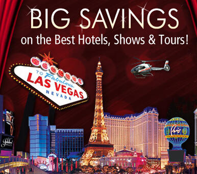Up to 50% Offon Vegas Shows, Tours & Attractions