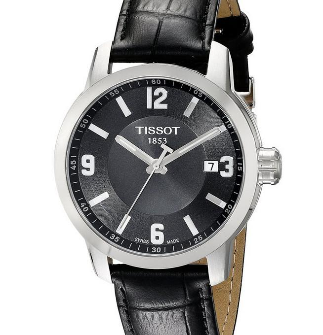 Lowest price! Tissot Men's T0554101605700 PRC 200 Analog Display Quartz Black Watch