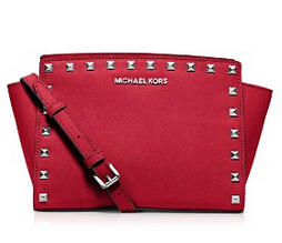 MICHAEL Michael Kors Crossbody - Selma Stud Medium Messenger