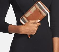 Burberry'House Check - Large'  Zip Wallet @ Nordstrom
