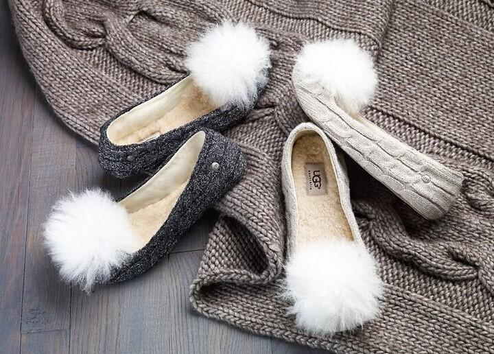 UGG Australia Andi Genuine Sheepskin Detail & Lined Slipper @ Nordstrom Rack