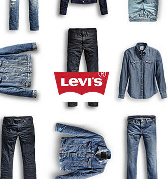 Up to 75% off + FS Sale Items @ Levis