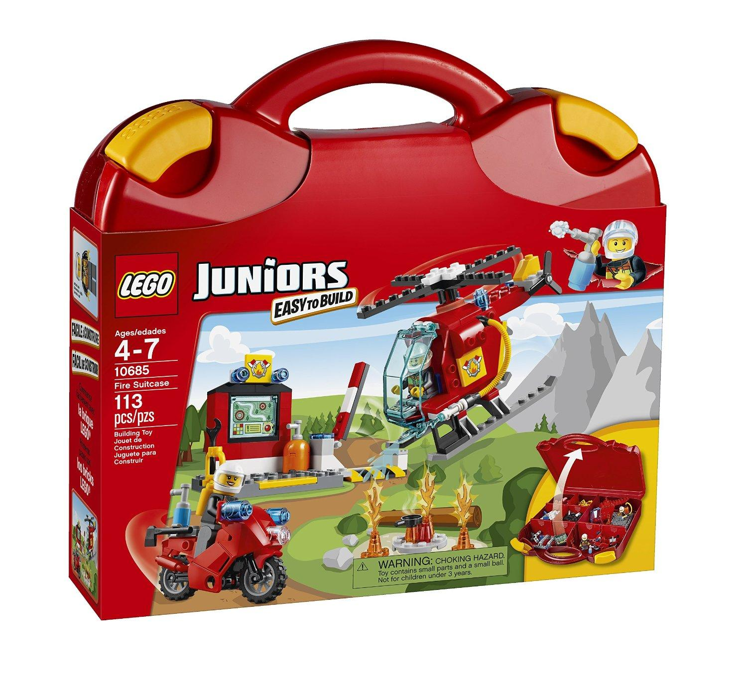 $15.99 LEGO Juniors Fire Suitcase