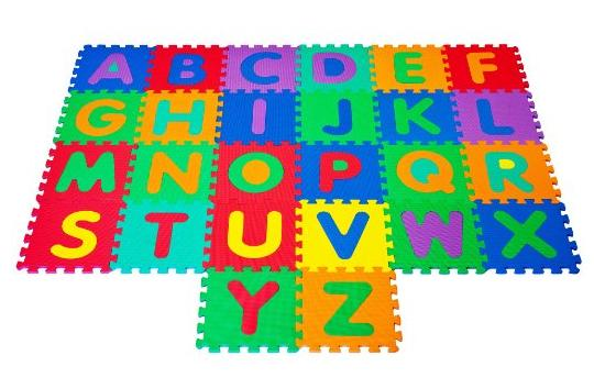 Trademark Global Foam Floor Alphabet Puzzles Mat for Kids @ Amazon.com
