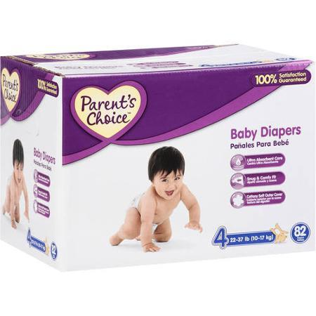 $13.97/box Parent's Choice - Diaper Box (Choose Your Size)