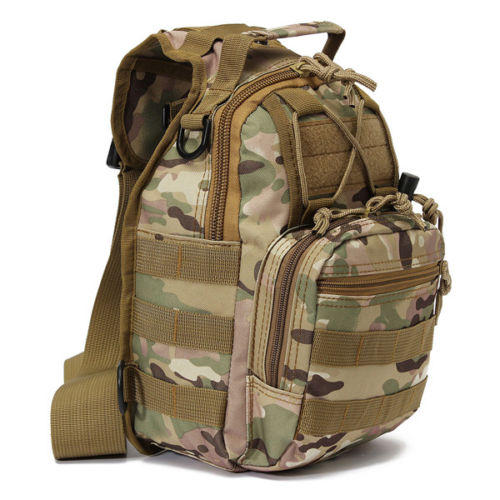 $12.85 Outdoor Military Tactical Backpack Rucksacks Sports Camping Travel Hiking Bags