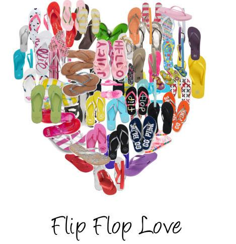 All for $3.49Flip Flops Clearance Sale @ Justice