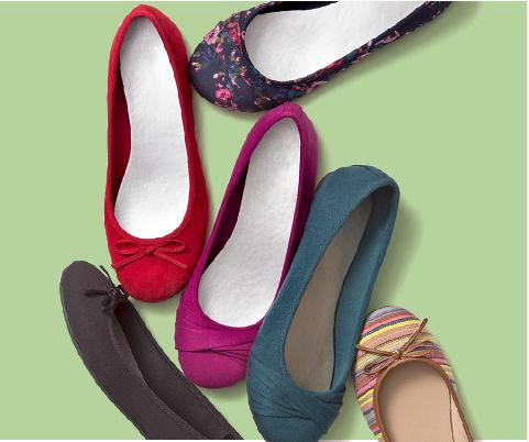 From $5 Select Flats Sale @ Payless