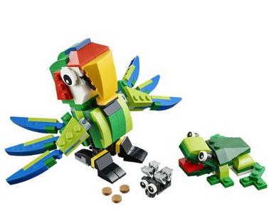 $13.94 LEGO Creator Rainforest Animals