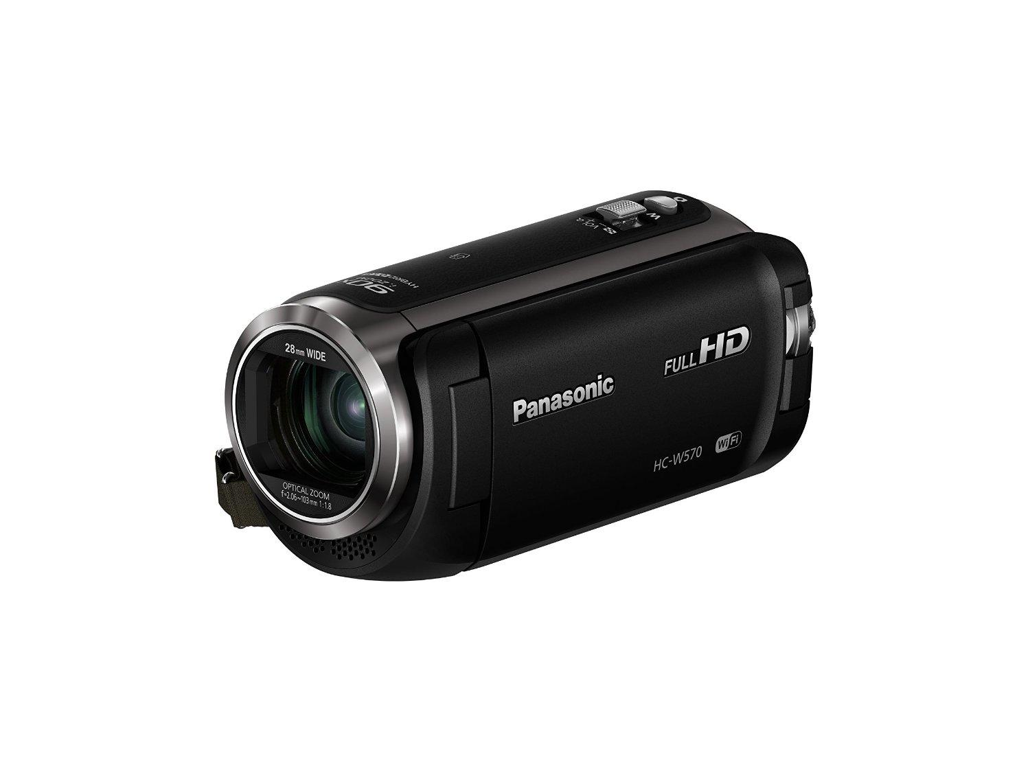 Panasonic HC-W570 HD Camcorder with Built-in Twin Video Camera